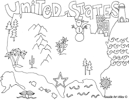 United States Coloring Page #8844