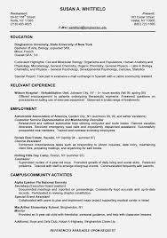 resume example for college student resume example resume for high school students with no experience samples