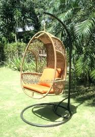 egg chair wicker oval shaped patio chair cushions wicker egg chair egg chair wicker coco outdoor