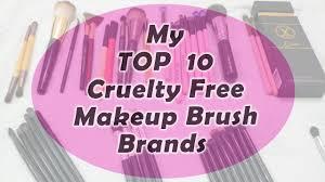my top 10 makeup brush brands free and vegan indian and international brands