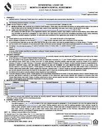 California Association Of Realtors Commercial Lease