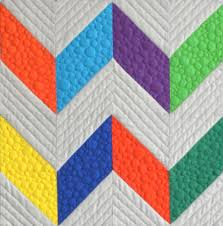 Free-Motion Quilting for Beginners: 10 Tips & Chevron Design Quilt Adamdwight.com