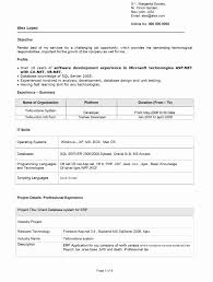Hadoop Fresher Resume Sample Java Resume Format Luxury Cover Letter Java Developer Resume 17