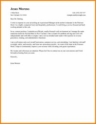 Cover Letter Example For Job Application Hotel Hospitality Hotel
