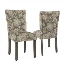 parsons chair grey fl set of 2