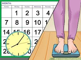 4 Ways To Create A Weight Loss Chart Wikihow
