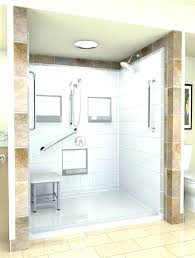 one piece shower unit stunning one piece shower units to your bathroom with amazing design throughout