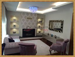 living room decorating ideas with decorative wall niche designs