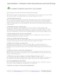 sample of interview questions and answers interview jobs sample interview questions and answers typical job interview questions