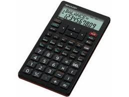 Financial Calculator Sharp Financial Calculator El 738