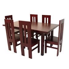 amazing of wooden dining set dining set nilox 06 seater arpico furniture