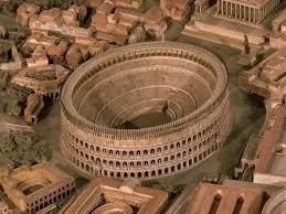 Колизей величественная памятка Древнего Рима Дикий Дикий Мир внутри колизея