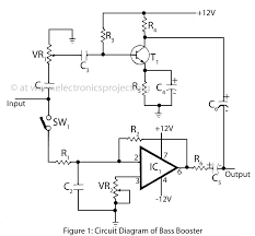 similiar bass booster schematic keywords circuit diagram of bass booster