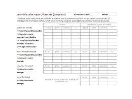 Report Format Template