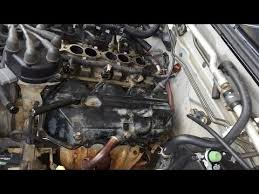 how to fix engine valve cover leaky gasket joint nissan  how to fix engine valve cover leaky gasket joint nissan 3300 v6 part 3 5