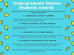 2018 Undergraduate Science Student Awards The Scapegoat