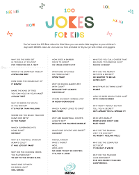 100 hilarious jokes for kids imom
