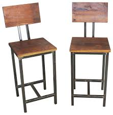 dining chairs bar stools. reclaimed wood stools, set of 2 industrial-bar-stools-and-counter dining chairs bar stools e