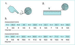 Ring Size Chart For Men Actual Size How To Measure Ring Size At Home In 3 Different Ways