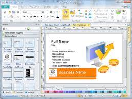 card maker template free business card maker application software templates download