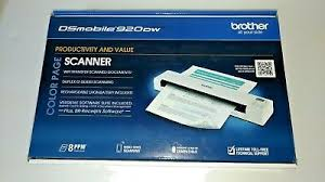 New Brother Ds 920dw Wireless Mobile Color Page Scanner 12998