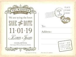 How To Word The Perfect Save Date Invitation Template Danielmelo Info
