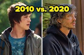 Percy Jackson And The Lightning Thief Cast Then And Now