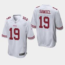 Nfl Men's Francisco Store Jersey Fan 49ers Jersey White San