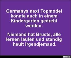 Germanys Next Topmodel Könnte Auch In Einem Kindergarten Lustige