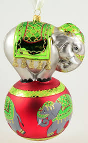 34 best Elephant Christmas Ornaments images on Pinterest ...