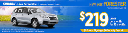 2018 subaru discounts. brilliant discounts 2018 forester low payment lease special available at subaru of san  bernardino inside subaru discounts r