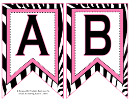 Printable Letter For Banners Printable Banners Magdalene Project Org