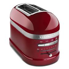 kitchenaid kmt2203ca pro line 2 slice automatic toaster candy apple red