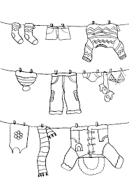 Small Picture Pictures Color The Winter Clothes Coloring PAges Winter Coloring
