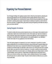 free 31 personal statement exles