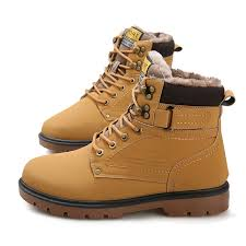 men boots 2018 new fashion pu leather wear