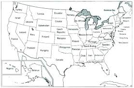 Us Map Coloring Page Packed With United States Map Coloring Page