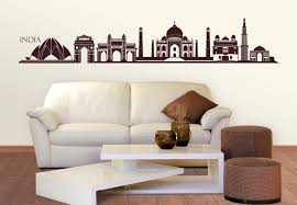 merry indian wall art decoration ideas india skyline sticker uk wood canvas stickers painting tapestry
