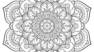 Intricate Coloring Pages Intricate Design Coloring Pages Free Design