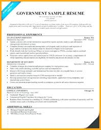 Federal Resume Template Extraordinary Cv Constructeur Usajobs Federal Government Resume Builder Template