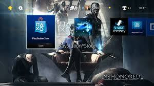 Dishonored 2 Gets Three Ps4 Dynamic Themes For Free And