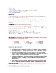 Change Resume Objective Reb Throughout Sample Career Statements