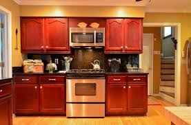 Rosewood Stained Maple traditional-kitchen