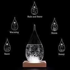 Amymami Storm Glass Weather Predictor Creative Stylish