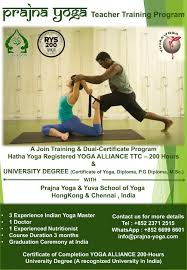 yoga alliance ttc 200 and university degree in yoga yoga teacher in hongkong on 2016 06 04 11 00