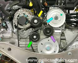1999 porsche boxster engine diagram wiring diagram for you • porsche boxster idler belt pulley replacement 986 987 1997 08 rh pelicanparts com porsche boxster engine location porsche boxster engine location