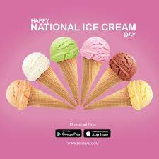 Happy National Ice Cream Day in 2021 ...