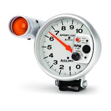 autometer tach wiring 4 cylinder autometer image 5 pedestal tachometer 0 10 000 rpm ultra lite on autometer tach wiring 4 cylinder
