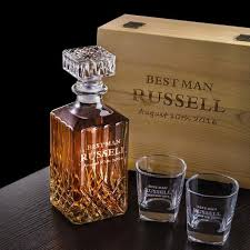 awesome groomsmen gifts personalized whiskey decanter set