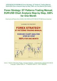 New Launch Forex Strategy St Patterns Trading Manual Eur